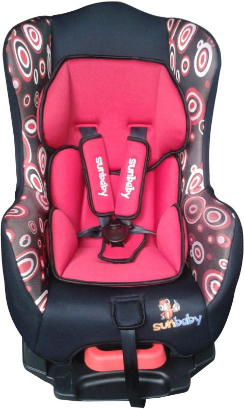 Sunbaby Forward Facing Orion Car Seat without Bumber(Red)