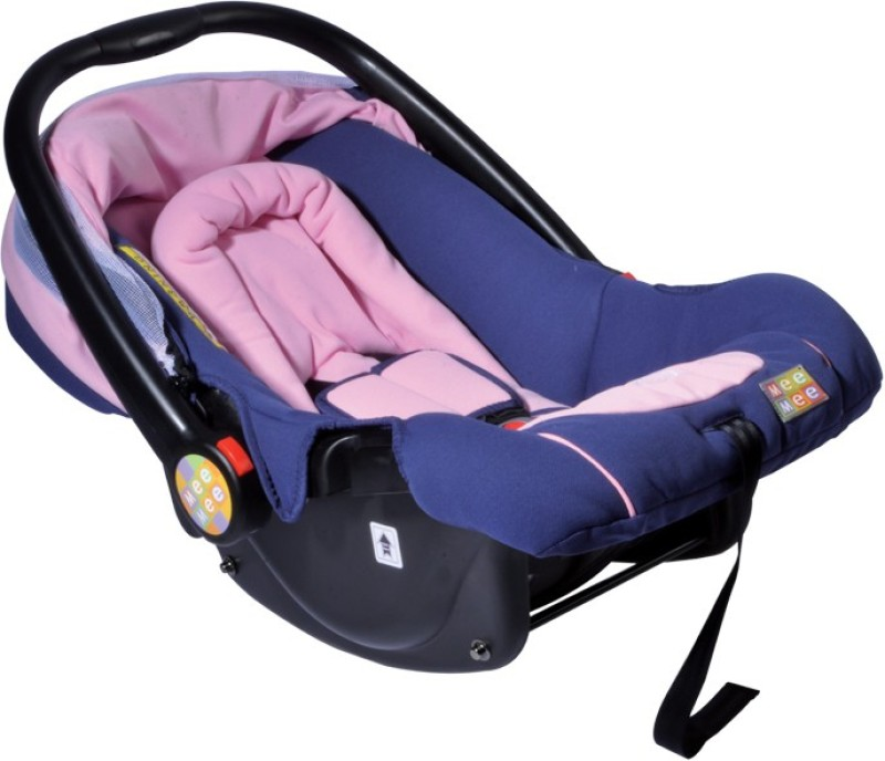 Mee Mee Forward Facing Canopied Car Seat Cum Carry Cot(Pink)
