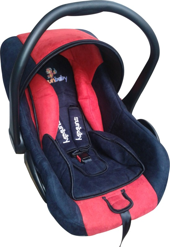 Sunbaby Rearward Facing Secure Carry Cot Cum Car Seat(Red)