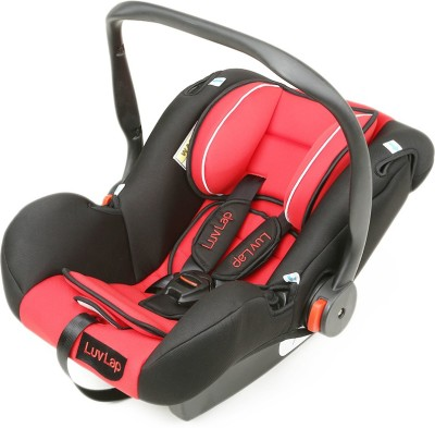 Luvlap Baby Carseat cum Carry Cot(Red)