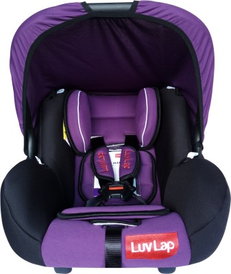 LuvLap Baby Car Seat with Cary Cot(Purple)