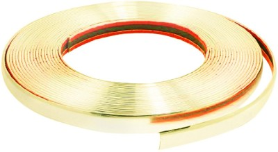 Vheelocityin Decorative Gold Chrome Strip For Interior / Extrerior - 20M For Toyota Innova Car Side Beading