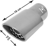 Speedwav 213875 Exhaust Muffler Tip
