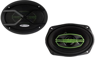 Worldtech Worldtech Car 880W 4 Way Rear Car 6X9 Inches Speakers Oval 78482 Coaxial Car Speaker