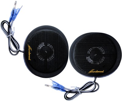 Soundwood SW-T20 Titanium Coated Dome Tweeters Component Car Speaker
