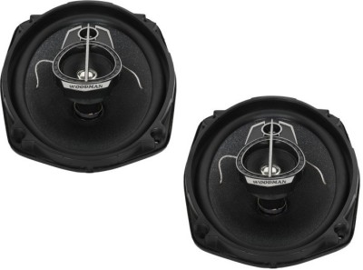 Woodman 6x9 Inch Oval (440 Watts - 3 Way Speaker) 1 Year Warranty 6952 Coaxial Car Speaker