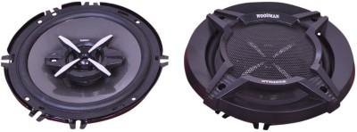 Woodman 6 Inch (280 Watts - 3 Way Speaker) 1 Year Warranty 1652 Coaxial Car Speaker(280 W)