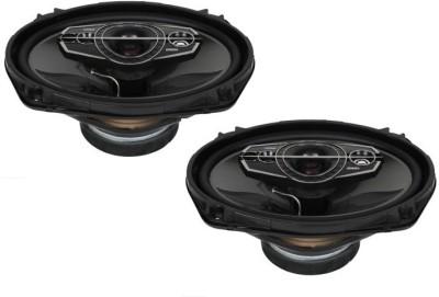 Woodman 6x9 Inch Oval (600 Watts - 5 Way Speaker) 1 Year Warranty 6954 Coaxial Car Speaker(600 W)