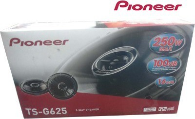 Pioneer Injection Moulded Cone TS-G625 Coaxial Car Speaker