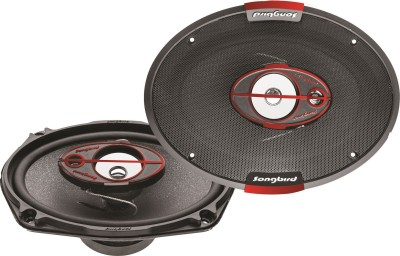 Songbird 6,,X9,, Oval 550W Max 3 Way SB-B69-76 Coaxial Car Speaker(550 W)