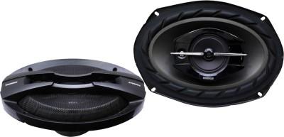 Woodman 6x9 Inch Oval (520 Watts - 3 Way Speaker) 1 Year Warranty 6953 Coaxial Car Speaker(520 W)