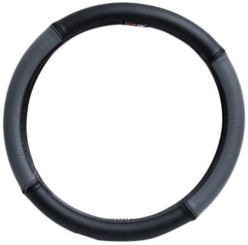 Retina Steering Cover For Volkswagen Beetle(Grey, Leatherite)