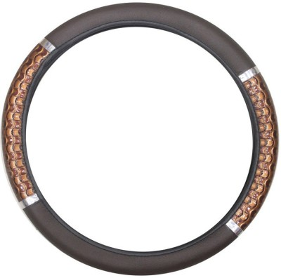 Vheelocityin Steering Cover For Tata Indica Vista(Beige, Leatherite)