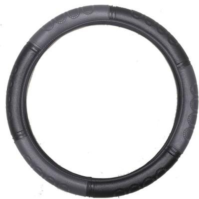 Vheelocityin Steering Cover For Maruti Ertiga(Grey, Black, Leatherite)