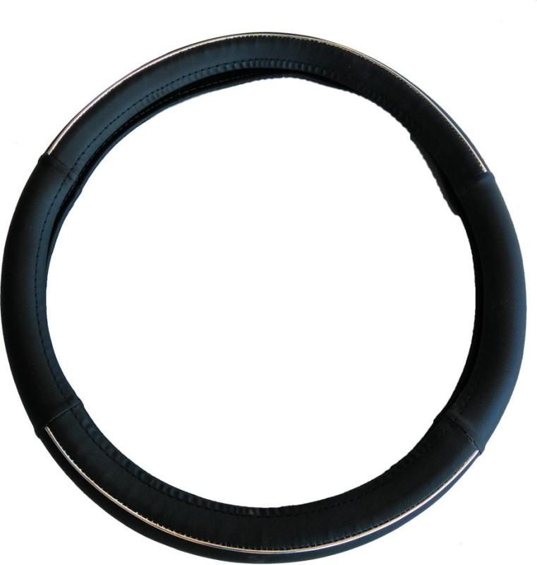 Retina Steering Cover For Skoda Octavia(Black,White, Leatherite)