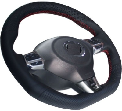 Autoform Hand Stiched Steering Cover For Hyundai Xcent, i20, i10, Innova, Verna, Terrano, Eon, Getz