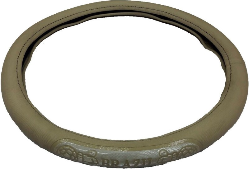Retina Steering Cover For Honda Accord(Beige, Leatherite)