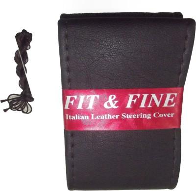Fit and Fine Steering Cover For Suzuki, Volkswagen, Hyundai, Chevrolet, Toyota Cruze, Thar, New Swift, Rapid, Innova, Fluidic Verna, Corolla Altis, i20, i10, Amaze, Corolla, XUV, Ritz, Duster