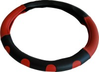 Retina Steering Cover For Maruti Ritz(Red,Black, Leatherite)