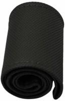 AutoKit Steering Cover For Toyota Etios(Black, Leatherite)