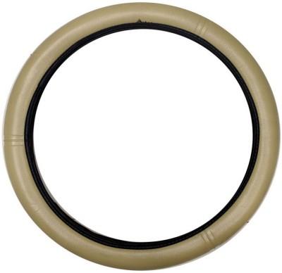 Vheelocityin Steering Cover For Maruti Omni(Beige, Leatherite)