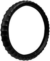 Jmjw & Sons Steering Cover For Tata Zest(Black, Leatherite)