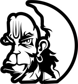 Idesign Hanuman Face Car Sticker Price In India On 03 10