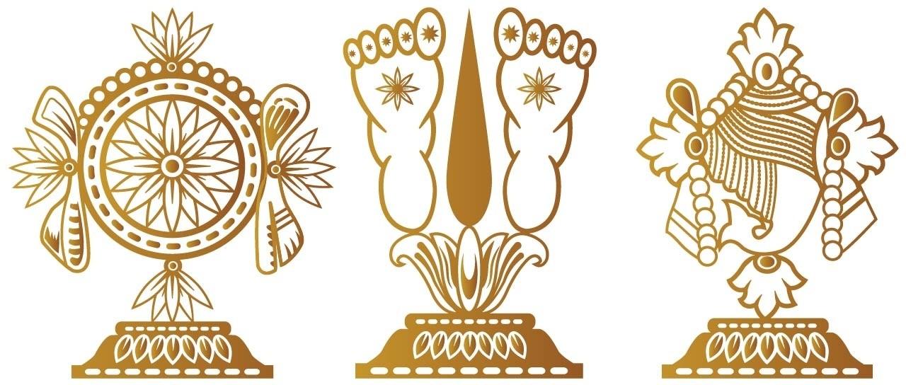 Tirupati Balaji Symbols