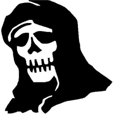 Onlinemart Evil Sticker for Hood