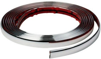ACCESSOREEZ Chrome Diy Moulding Trim Strip For Window Bumper Grille S Car Side Beading