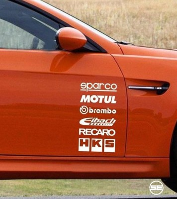 SE Racing Sticker for Sides