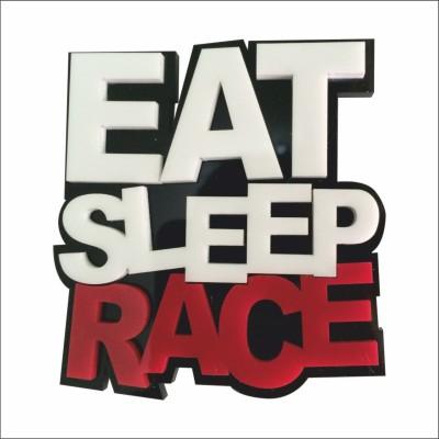 Acrylic Racing Sticker for Bumper, Hood