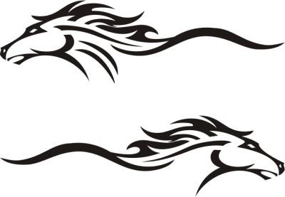 Xtremeonlinestore Car & Racing Logos Sticker for Hood