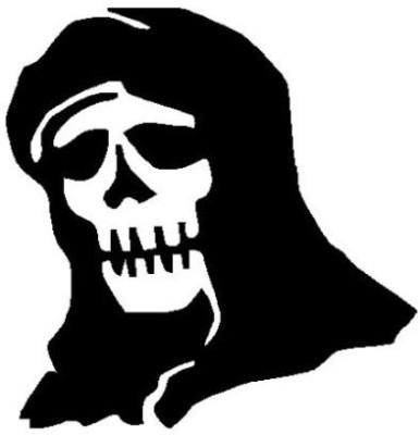 Onlinemart Phrases & Sayings Sticker for Hood
