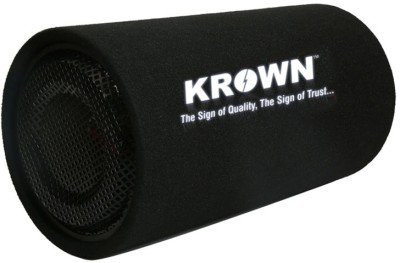 Krown CBT-08P Passive High Performance 8 inch Bass Tube Subwoofer(Passive , RMS Power: 2000 W)