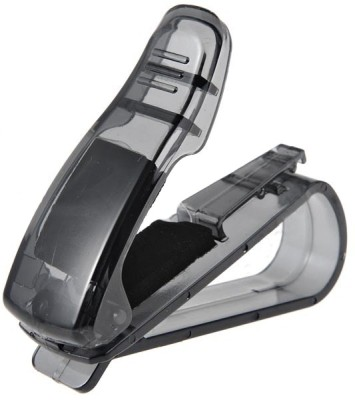 Futaba FUBC-003CSV Black Car Sunglass Clip Holder