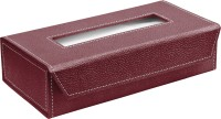 Ecoleatherette TB.Cherry Vehicle Tissue Dispenser(Maroon)