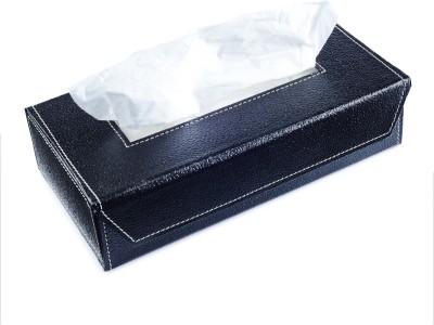 Ecoleatherette Tb.Bk Vehicle Tissue Dispenser(Black)