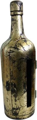 BKDT Marketing Wooden Handicraft Bottle Shape Vehicle Tissue Dispenser(Brown)