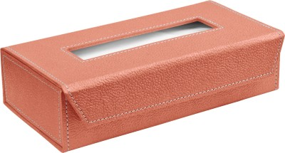 Ecoleatherette TB.S.Coral Vehicle Tissue Dispenser(Pink)
