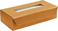 Ecoleatherette TB.R Vehicle Tissue Dispenser(Gold)