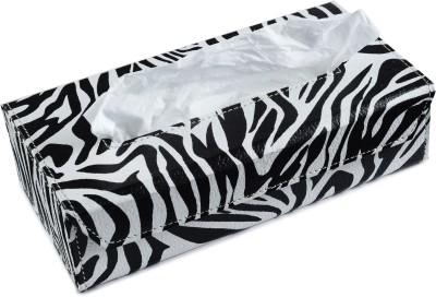 Ecoleatherette Zebra Design Vehicle Tissue Dispenser