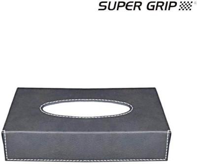 Super Grip Ecosoft Tissue Box - Grey Vehicle Tissue Dispenser(Grey)