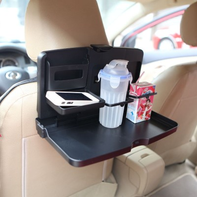 Ibs Tray Travel foldable dining meal backseat Dish automotive goods Auto Food Desk Stand Drink Cup Holder Car Tray Table