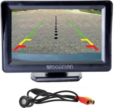 Woodman Car 4.3 inch TV with night vision camera Black LCD(11 cm)