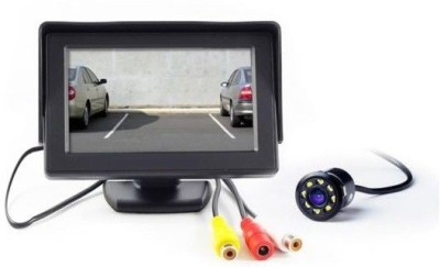 AutoStark TFT Monitor with LED Reverse Parking Camera -Universal For Car Black LCD(4.3 cm)