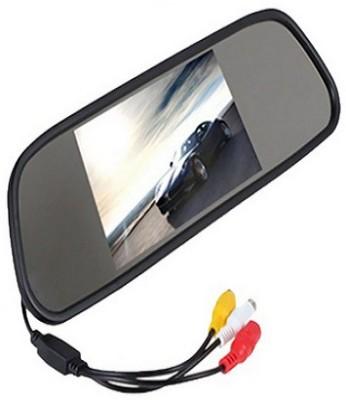 Harman 4.3 Digital Tft Lcd Screen Rearview Mirror Monitor Black LED(10.5 cm)