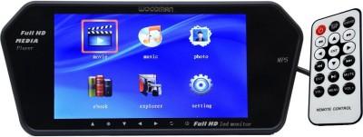 Woodman 7 Inch Full HD LED Monitor (USB & Bluetooth) Black LED(18 cm)