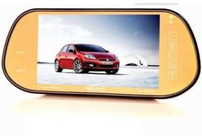 Worldtech Wt-Rv7180 7 Inch Tft Lcd Rear View Mirror Monitor With 8 Led Camera Beige LED