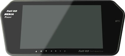 AutoParx Rear view screen with Bluetooth Black LED